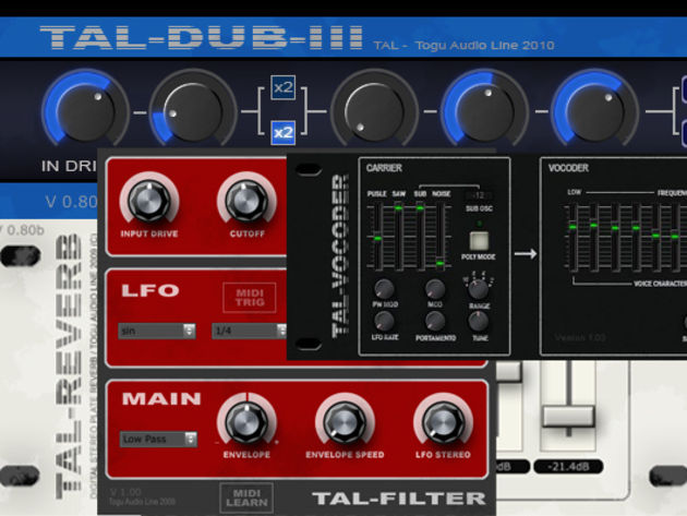 Togu Audio Line TAL effects
