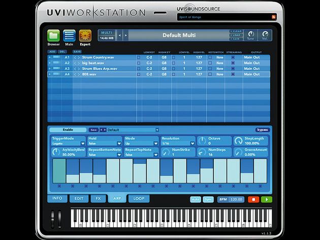 UltimateSoundBank UVI Workstation