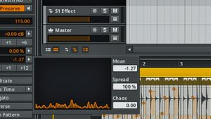 How to manipulate pitch with Bitwig Studio's Histogram