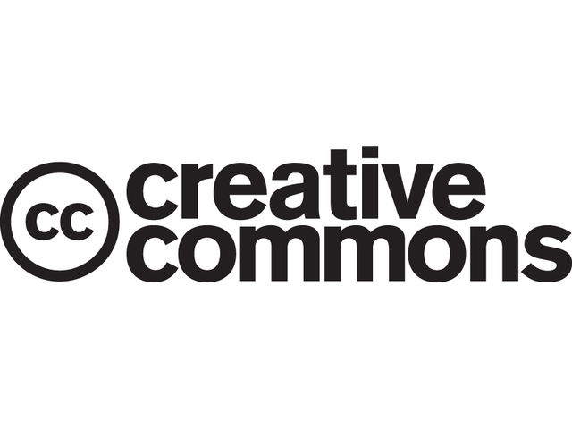 The Creative Commons logo is starting to become a common sight.