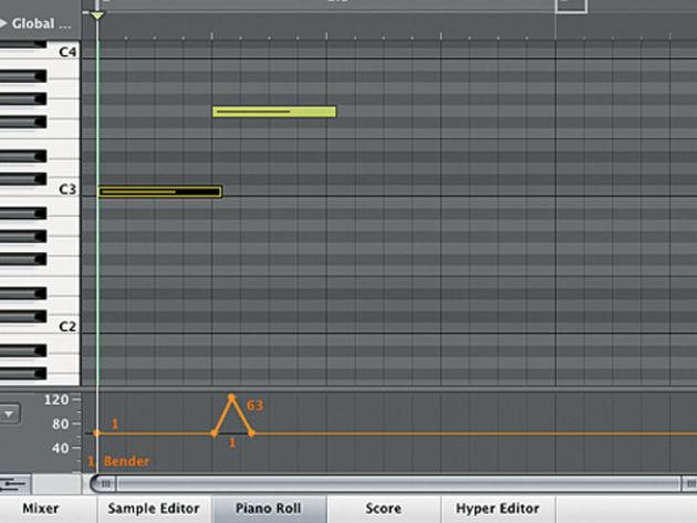 Ptich bend/modulation