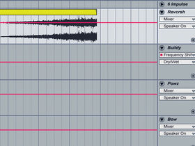 How to make a filtered dance music transition