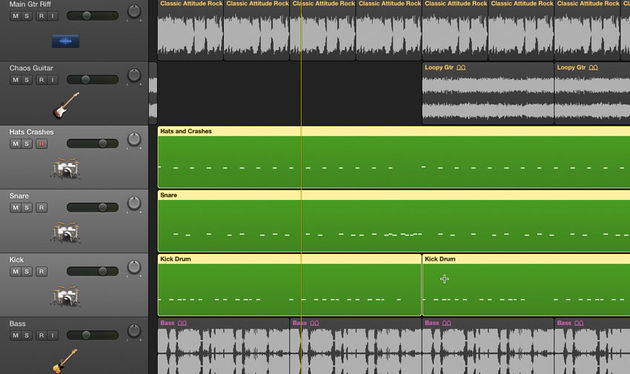 For true control, you'll want to split your drum part into a multi-channel arrangement