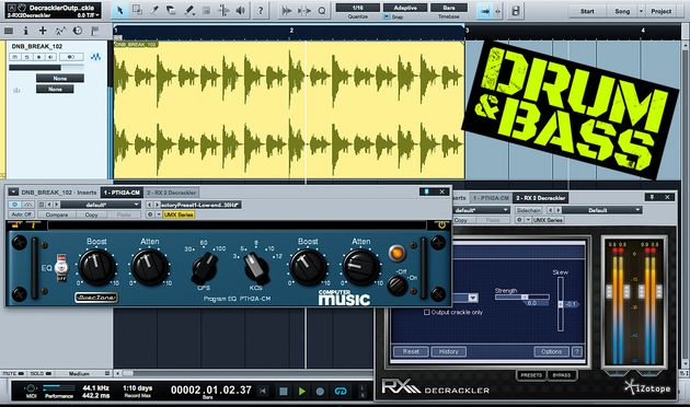 Processing your breakbeats can help them to work much better in a DnD context.