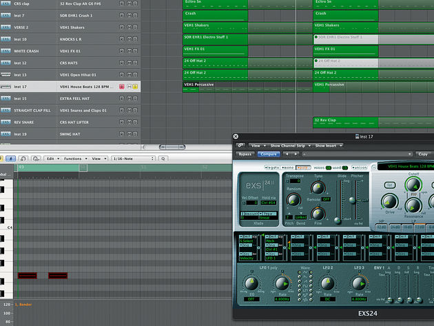 Adding another percussion layer