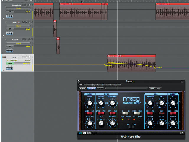 Finishing touch 3: the high-pass filter