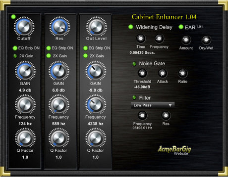 AcmeBarGig cab enhancer