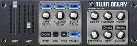 Rhythm lab twin delay