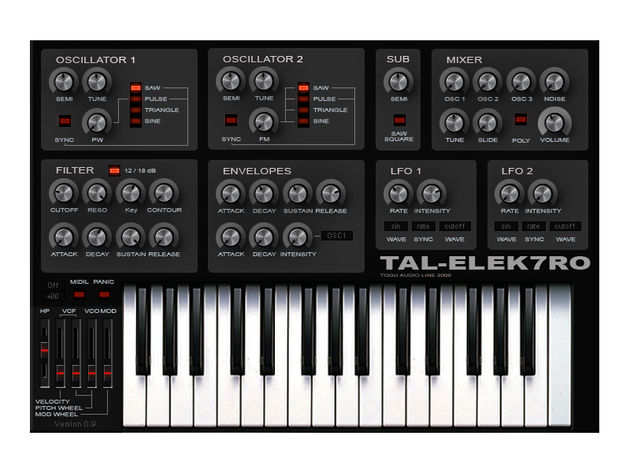 TAL-Elek7ro: it's time to take another free virtual analogue for a spin.
