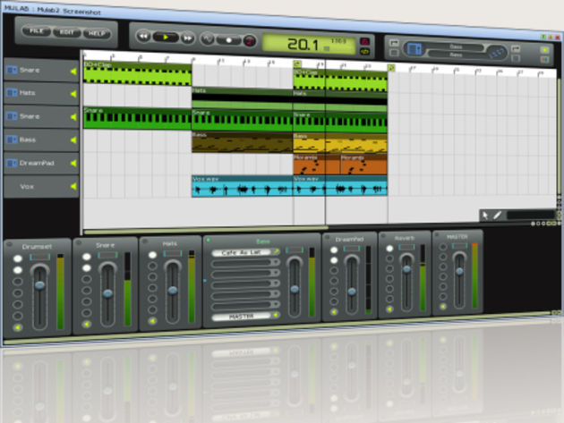 MUTOOLS' MU.LAB Free gives you six tracks to record on.