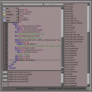 MIDI scripter
