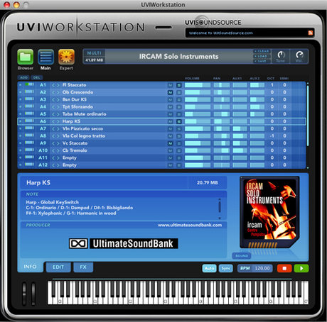 Univers sons uvi workstation 1.1