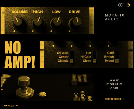 Mokafix audio no amp