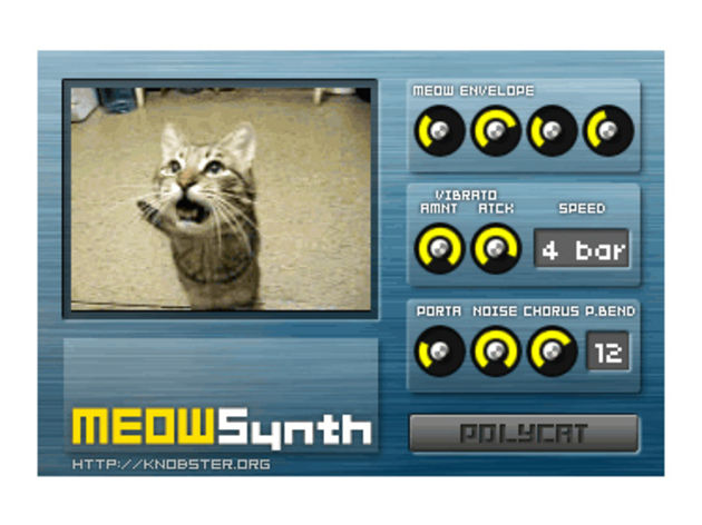 A purrfect sounding synth?