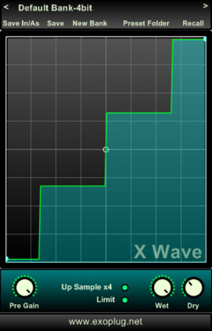 Wave symmetric waveshaper