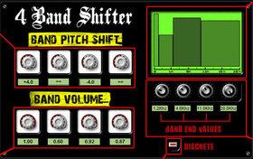 4 band shifter