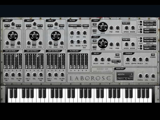 LaborOsc: another free Windows synth for your rack.