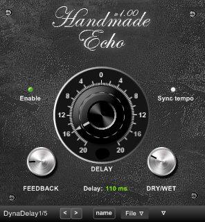 Minimal system instruments handmade echo