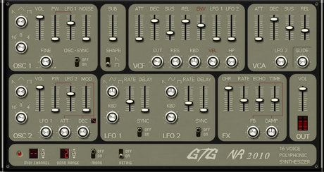 GTG synths nr2010