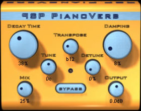 PSP audioware psp pianoverb