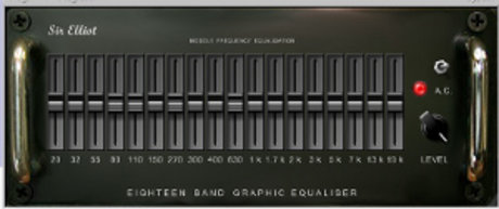 Sir elliot eighteen band graphic equaliser
