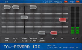 Togu audio line tal-reverb iii