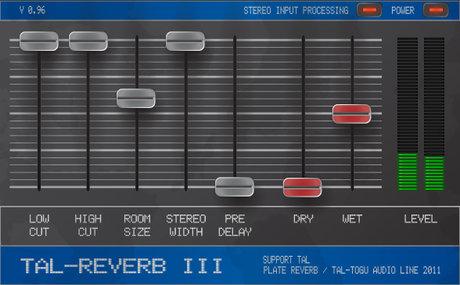 Togu audio line tal-reverb iii