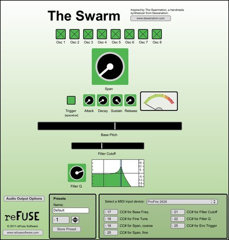 reFuse software the swarm
