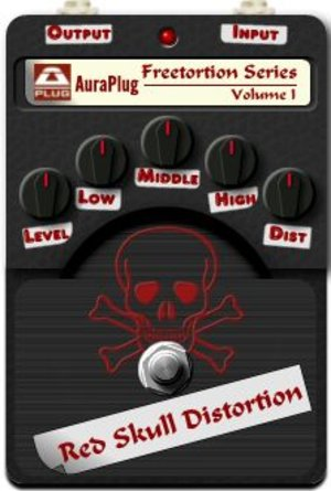 Red skull distortion