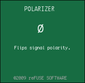 reFuse software polarizer