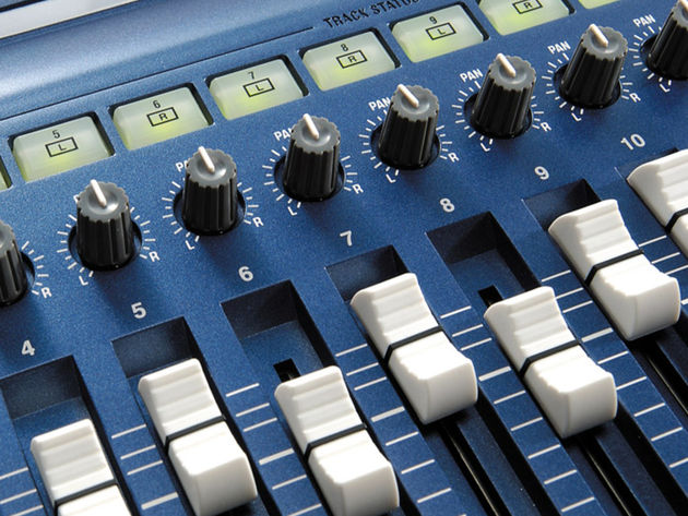Getting the faders in the right places isn't easy...