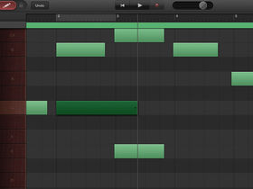 How to edit MIDI notes in GarageBand for iOS