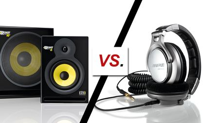 Monitors vs headphones: which is best for mixing?