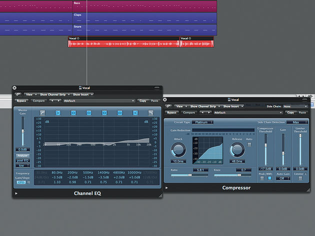 EQ and compression