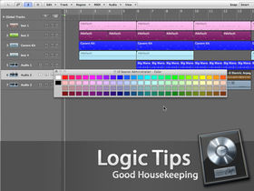 Good housekeeping in Logic Pro 8