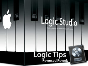 Create reversed reverb in Logic Pro 8