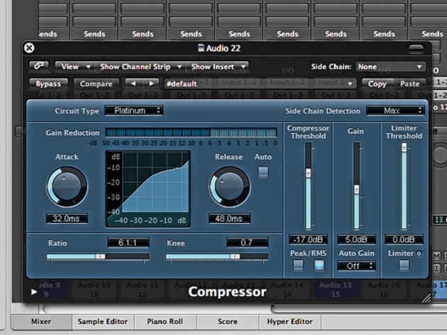Compressing the beat