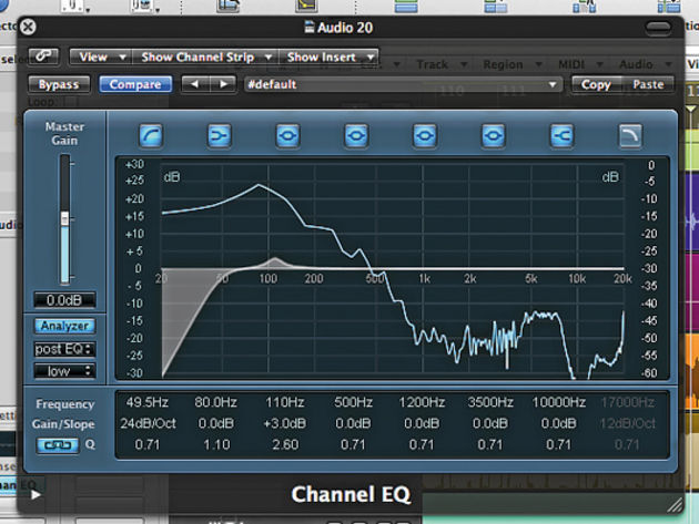 Filter and EQ