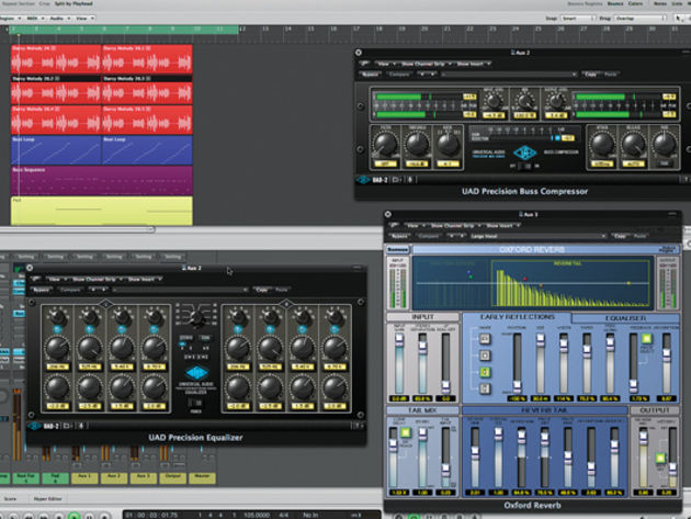 EQ, compression and reverb