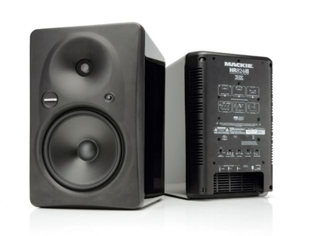 14 recommended studio monitor speakers mackie hr824 mk2 tech tuition musicradar. Black Bedroom Furniture Sets. Home Design Ideas