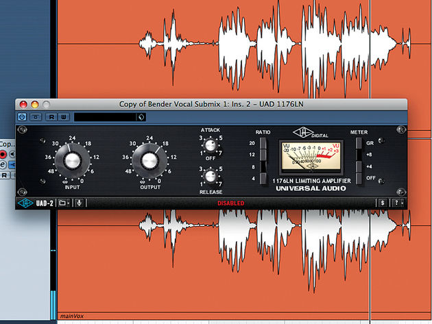 EQ and compress channel two