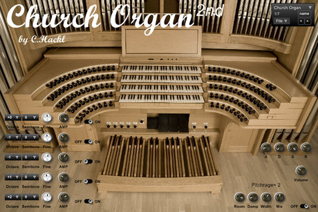 Mainstream audio church organ mkii