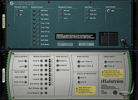 reason synth modulation options