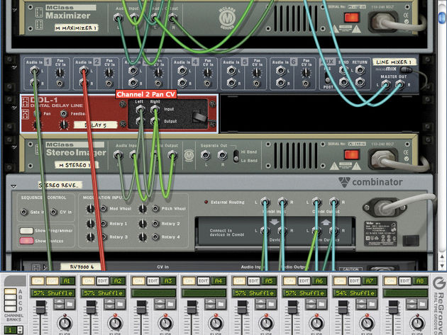 Make your Reason rack sound right.