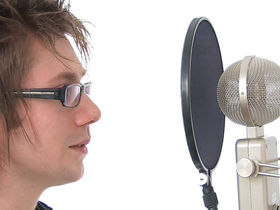 Recording basics: What is a condenser microphone?