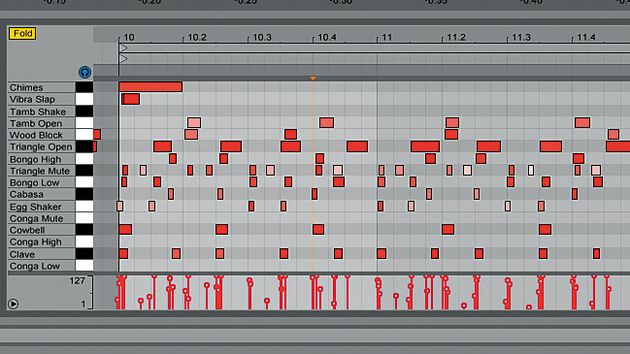 Complex syncopation can completely change the groove of a track