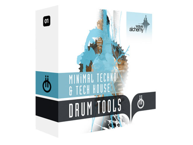 Wave Alchemy Drum Tools 01 - Minimal Techno & Tech House £40
