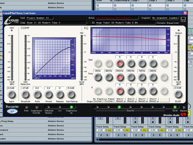 Compression and EQ