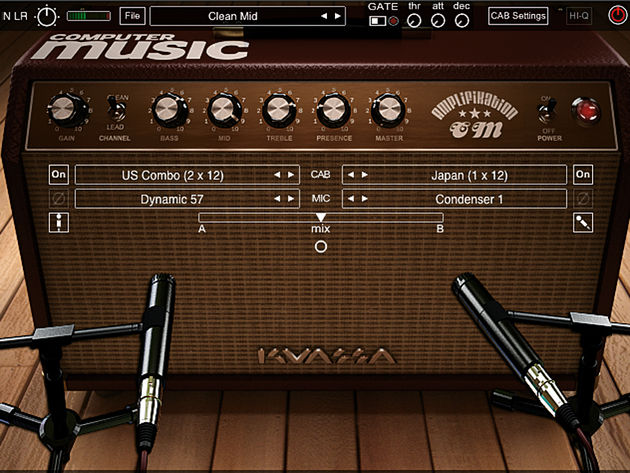 Power up your vocals by pushing them through a guitar amp sim.