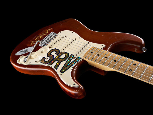 Stevie Ray Vaughan's playing has inspired many of today's blues guitarists